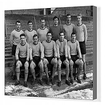 Hull City - 1965/66 Division 3 Champions. Box Canvas Print. Football - 1965 / 1966 season - Hull.