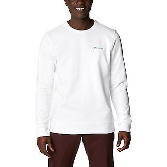 Columbia Logo Fleece Crew 1884931101   men sweatshirts