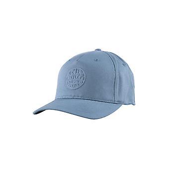 Rip Curl Men's Flexfit Cap ~ Wettie Deboss dusty blue