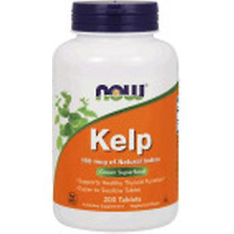 Now Foods Kelp 150 mg 200 Tabletten