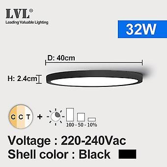Led Ceiling Light, Dimmable, Adjustable For Bedroom, Livingroom, Bathroom,