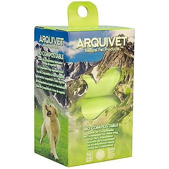 Arquivet Biocompostable Bags (Dogs , Grooming & Wellbeing , Bathing and Waste Disposal)