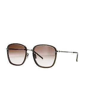 Saint Laurent SL 440/F 004 Green/Brown Gradinet Sunglasses