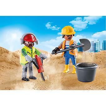 Travailleurs de la construction Playmobil DuoPack