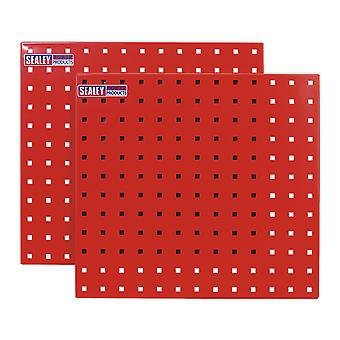 Sealey Tts05 Perfotool Storage Panel 500 X 500Mm Pack Of 2