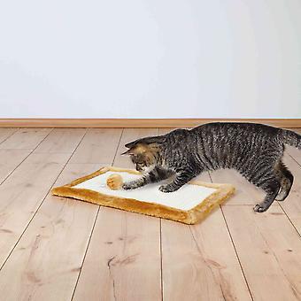 Trixie Bordered Plush Cat Scratching Mat