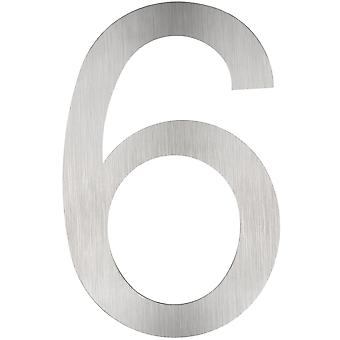 tectake Husnummer i rustfrit stål