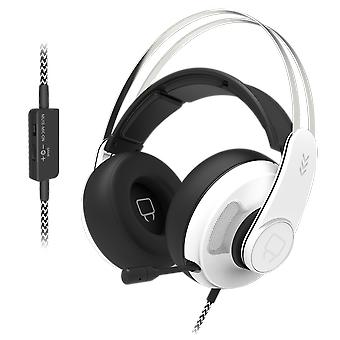 Sabre multi-format gaming headset - white (ps5, xbox series x & s, ps4, xbox one, pc)