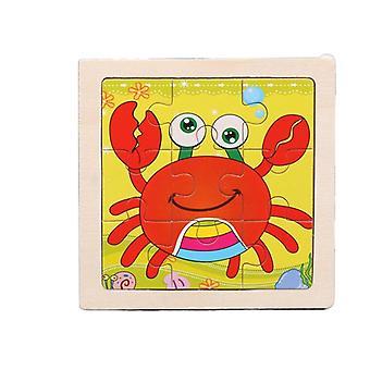 Puslespil legetøj børn tidlig uddannelse intellektuel puslespil tegnefilm gave pt170