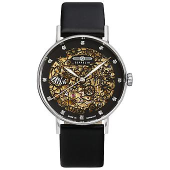 Automatic zeppelin 7461-2 watch for Women Analog Automatic with Cowhide Bracelet 7461-2