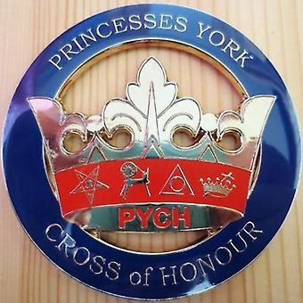Orden del emblema del coche masónico de la princesa estrella del este york