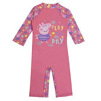 Peppa Pig Baby Play koko päivän yksiosainen uimapuku