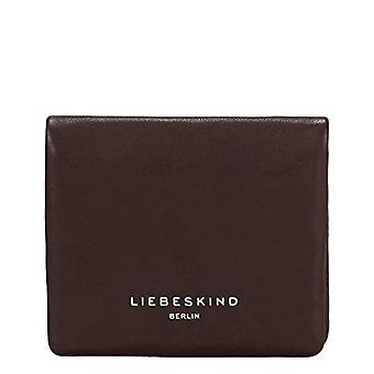 Liebeskind Berlin Pleat Wallet, Women's Wallet Travel Accessories, Brown (Dark Brown), 2x10x11 centimeters (B x H x T)