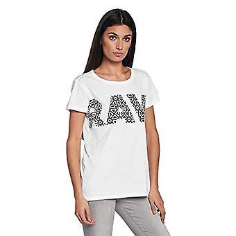 G-STAR RAW Rc Oluva Rak R T Wmn S/s T-shirt, Vit (Vit 110), X-Liten Kvinna