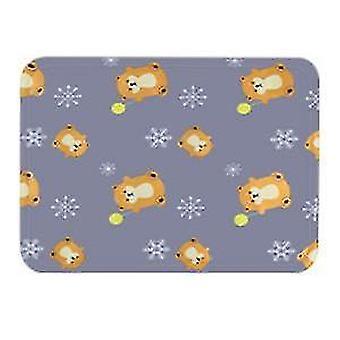 Stor grå sommer katt matt matte er bite resistantdog kennel ismatte x485