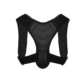 Correttore postura per uomini e donne, tutore posteriore superiore per supporto clavicola az5497