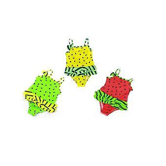 Kleine Mädchen Melone Design Badeanzug