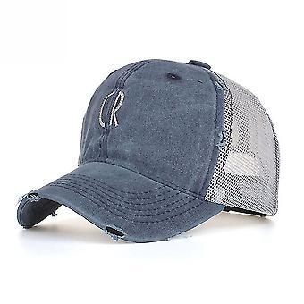 רקום רשת בייסבול כובע Sunshade חיצוני שמש כובע
