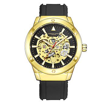 Hand Assembled Anthony James Limited Edition Expedite Automatic Gold
