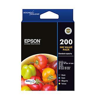 Epson 200 Std Capdurabrite Ultra 4 Ink Value Pack