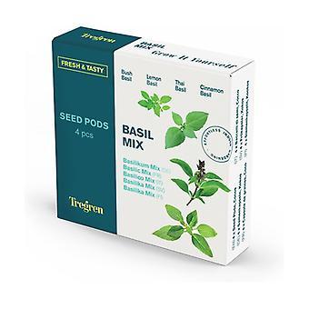 Basil Mix: 4 Grow Pods 4 units