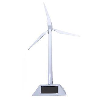 DIY solenergi vindmølle leketøy, 3D interessant vitenskap modell