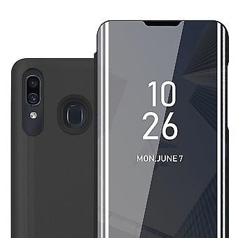 Hülle für Samsung Galaxy A20 / A30 Klappbare Handyhülle - Cover - mit Standfunktion und Kartenfach