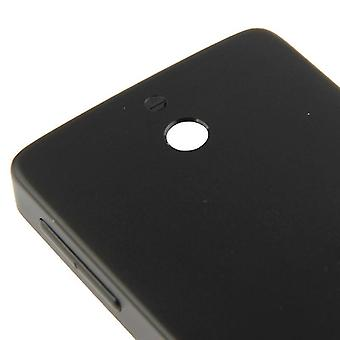 Originalbatteri bakplåt i aluminium för Nokia 515 (svart)