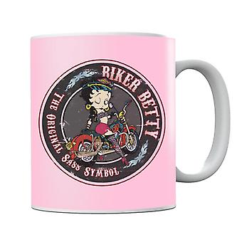Betty Boop Biker Betty Mug