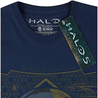 Halo 5 Official Mens Locke HUD Helmet T-Shirt