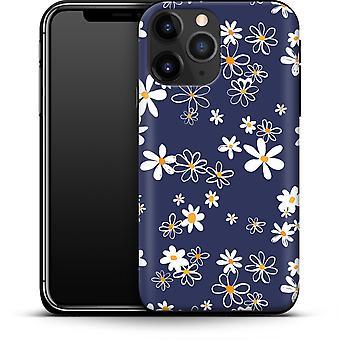 Navy Gänseblümchen durch abtrierbare Designs Smartphone Premium Case Apple iPhone 12 Mini