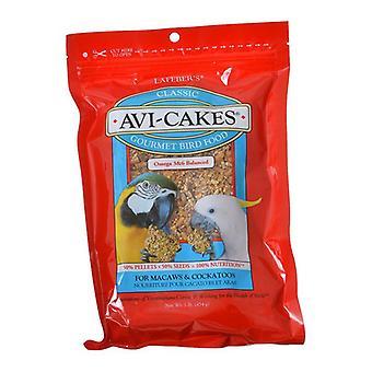 Lafeber Classic Avi-Cakes Gourmet Macaw & Cockatoo Food - 16 oz