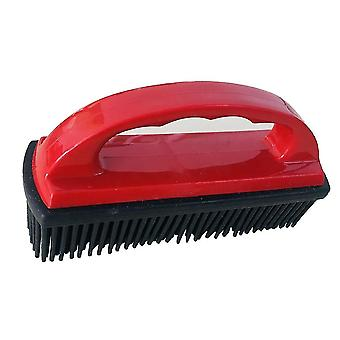Pet combs brushes portable pet brush bathing massage comb remover shower cats silicone dog grooming cleaning combs