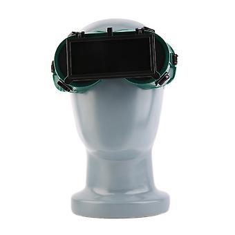 Couper les lunettes de soudage de meulage avec des lunettes rabattables protègent la sécurité