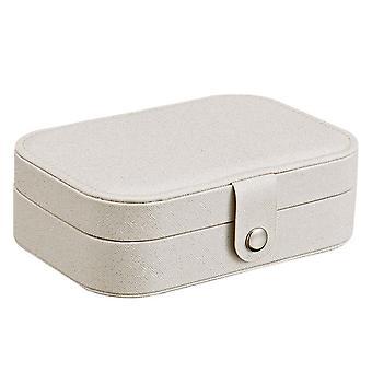 Серьга кольцо ювелирные изделия Дисплей Главная Хранение Box Дело Организатор Фланель Tray держатель коробки корзины