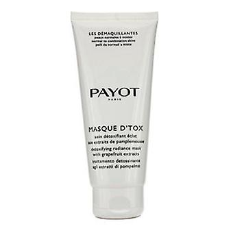 Les demaquillantes Masque D ' Tox detoxifying Radiance Mask-normaalille yhdistelmä nahkojen (Salon koko)-200ml/6.7 oz