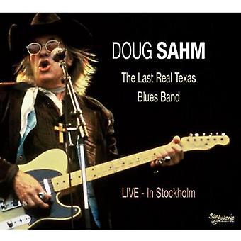 Doug Sahm - Last Real Texas Blues Band Live in Stockholm [CD] USA import
