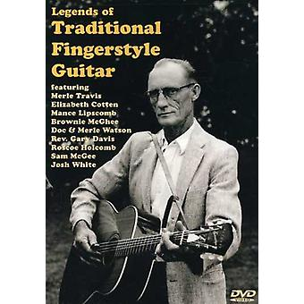 Legends of Traditional Fingerstyle Guitar [DVD] USA import