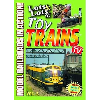 Lots & Lots of Toy Trains Vol. 2 [DVD] USA import