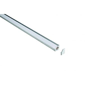 LED Robus Aluminum Angled 45° Extrusion Profile, 1M