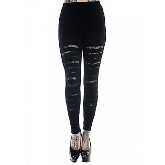 Banned Apparel Slashed Leggings