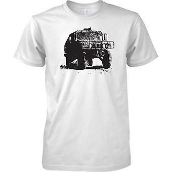 Yhdysvaltain armeijan Humvee - panssaroidut sotilaallinen ajoneuvoa - lasten T-paita