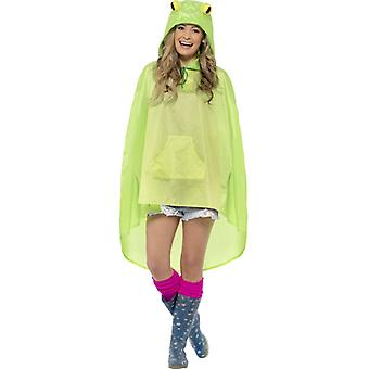 Frog costume party poncho frog poncho raincoat Festival costume