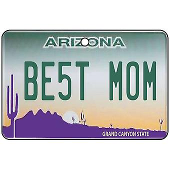 Arizona - Best Mom License Plate Car Air Freshener