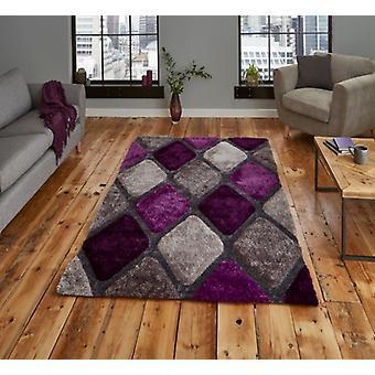 Noble House 9247 grau lila Rechteck Teppiche Plain/Fast einfache Teppiche
