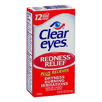 Clear Eyes Redness Relief Eye Drops 2 Pack