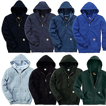 Carhartt men's Zip Hoodie midweight Hooded Zip Front Sweatshirt