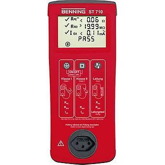 Benning ST 710 Swiss socketsVDE-Tester Swiss Version