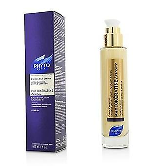 Phyto Phytokeratine Extreme Exceptional Cream (ultra-damaged Brittle & Dry Hair) - 100ml/3.5oz