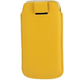 Mobile sag taske dias dække gul